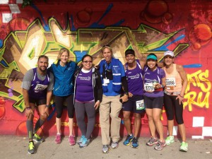 #FBF to post-race at 2013 Bronx 10-miler with Mary Wittenberg and Peter Ciaccia