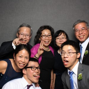 03/2014 - Being silly with my family at our cousin's wedding