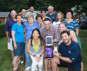 06/2014 - Celebrating one important birthday for one important person in Pittsburgh, with Josh's family
