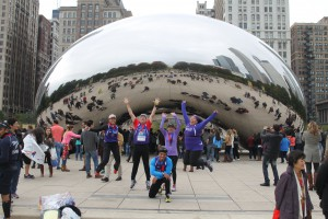 10/2014 - Some of us crazies after the Chicago Marathon