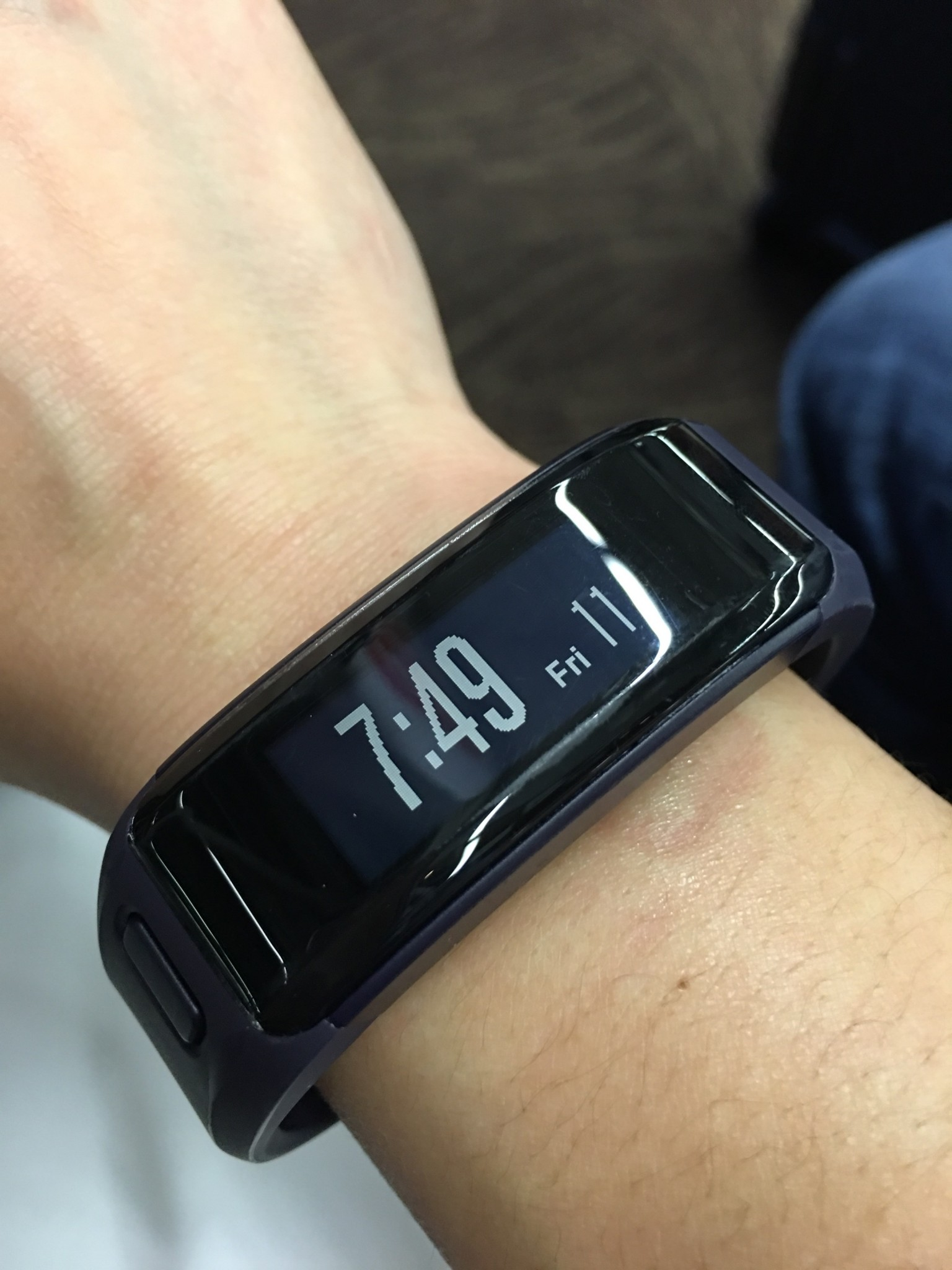 garmin vivosmart hr review